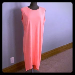 COS Show stopping neon orange summer dress
